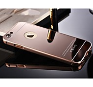 High Quality Protective Metal Bumper Frame with Back Cover for iPhone 6S Plus/6 Plus (Assorted Colors)