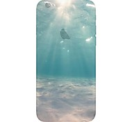 Ocean Under Water View Pattern TPU Soft Back Case for iPhone 6/6s