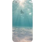 pattern mundo submarino TPU caso de telefone macio para iphone 5 / 5s