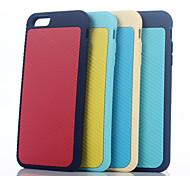 nouvelle mode de silicium de style exotique cas de téléphone mobile pour iphone6s plus / 6 plus couleur assortie