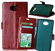 pu wallet caso di alta qualità cellulare custodia per Motorola MOTO xt1254 (colori assortiti)