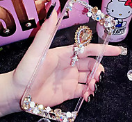 LADY®Phone Case/Cover for iphone 6/6s(4.7) and Decorated with Diamond, Silicone Material, More Colors Available