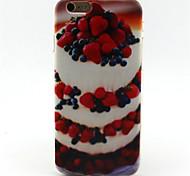 bolo caso padrão TPU para iphone 6s / 6