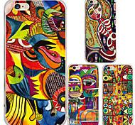 maycari® Impressionismus transparente TPU Tasche für iPhone 6 / iphone 6s