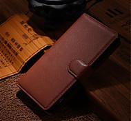 Lederschmutzabweisend Flip Mappenabdeckung Fall für Sony Xperia Z1 / z2a / Z3 / Z4 / Z1 mini / z3 mini / z4 Mini capa Telefonkasten