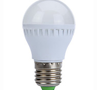 3W E27 250LM 10xsmd2835 fresco caliente de los bulbos / blanca LED bombillas de globo (220)