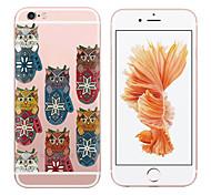 MAYCARI® Cute Pets Transparent TPU Back Case for iPhone 6plus/iPhone 6S plus