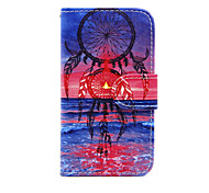 Full Body Wallet / Card Holder / with Stand Dream Catcher PU Leather Hard Case Cover For Nokia Nokia Lumia 630