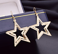 Selling The New Fashion Star With Europe And the United States Punk Wind The Stars Frosted Earrings