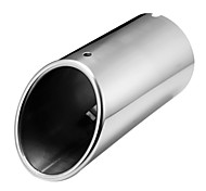 Chrome Muffler Exhaust Tail Pipe Tip FOR Audi A4 B8 1.8T 2.0T 2009-2015