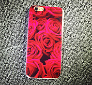 MAYCARI® Delicate and Charming Roses Transparent TPU Back Case for iPhone 6/iphone 6S