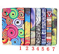7.9 Inch Coloured Drawing Pattern PU Leather Case for iPad Mini 4(Assorted Colors)