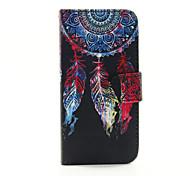 Für iPhone 6 Hülle / iPhone 6 Plus Hülle / iPhone 5 Hülle Geldbeutel / Kreditkartenfächer / mit Halterung HülleHandyhülle für das ganze