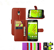 funda protectora soporte de la tarjeta en relieve para Motorola MOTO teléfono móvil x3