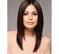 diaria venta preciosa peluca a Europa y América calidad pelucas syntheic marrón oscuro