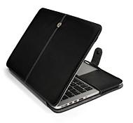 para la retina MacBook de 13 pulgadas estuche rígido del tirón caso folio caso caja de cuero de la PU de 15 pulgadas para el macbook