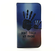 Palm Of Your Hand Pattern PU Leather Phone Case for Samsung Galaxy S3 9300/S4 9500 /S5 9600