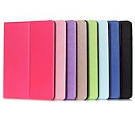 dos patrones de plegado caso de alta calidad de cuero de la PU para la lengüeta de la galaxia de Samsung un 9,7 / tab un 9.6 (colores