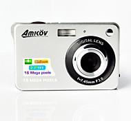 "AMKOV CDC3 Digital Camera 16.0MP 2.7""LCD Screen 550mAh Lithium Battery HD Digital Camera"