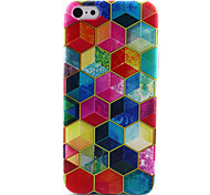 Diamond Painting Pattern TPU Soft Case for iPhone 5C