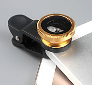 Universal 1 x Clip + 1 x 180° Fisheye Len + 1 x Macro Len + 2 x Len Caps + 1 x Cloth Bag for iPhone