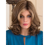 New Arrival Charming Brown Style Syntheic  Wigs  Extensions Women Lady's Lovely