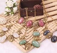 Jewelry Pendant Chain Women Vintage Choker Necklace