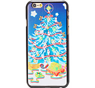 Christmas Style Gifts under Tree Pattern PC Hard Back Cover for iPhone 6