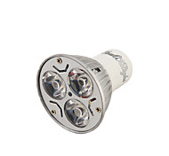 YouOKLight® 1PCS GU10 3W 220LM 3000/6000K  White/ Warm White 3-High Power LED Spot Light Bulb - (AC110-120/220~240V)