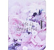 Beautiful Life Pattern PU Leather Protective Sleeve For Samsung Galaxy /T550 /T530/T350/T230/T560