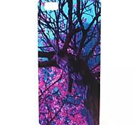 pourpre bois modèle TPU cas de téléphone pour Huawei p8 Lite