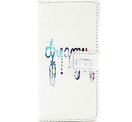 Dreamcatcher Pattern PU Leather Case with Money Holder Card Slot for BQ Aquaris E5
