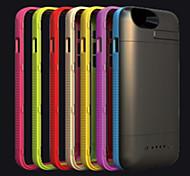 3600mAh cas de batterie de secours externe portable pour iPhone6 (couleurs assorties)