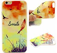 lumineux motif de ciel téléphone portable de TPU Soft Shell pour iPhone 6 plus