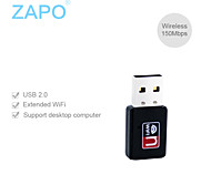 ZAPO W80 150M Mini USB interface wireless network card WIFI receiver transmitter
