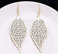 Ms Hot styleNew Personality Leaves Frosted Earrings Eardrop Luxury Joker