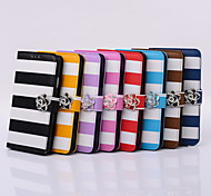 PU Following From Matching Color Stripe and Fashionable Mobile Phone Sets for Samsung Galaxy Note4/Note3