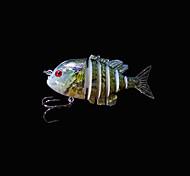 Esche rigide / Esca Esche rigide 5 g Oncia , 80 mm pollice 1 pc Pesca di mare , Verde Plastica dura