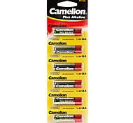 Camelion más alcalina baterías de pilas tamaño AA (6pcs)