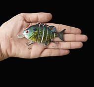 """Señuelos duros / Cebos Señuelos duros 1 pcs , 14 g / 1/2 Onza , 70 mm / 2-3/4"""" pulgada Amarillo Plástico duro Pesca de Mar"""