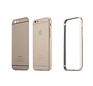 Luxury Acrylic Panel+Metal Aluminum Hybrid Shockproof Protective Cover Case for iPhone 5/5S(Assorted Colors)