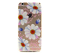 Sunflower Pattern TPU Phone Case For iPhone 6 /6S