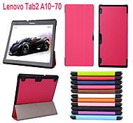 Schutz Tablet-Taschen Ledertaschen Halter Holster für Lenovo Registerkarte 2 a10-70f