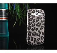 caso del patrón de leopardo ultra delgado de cuero PU para Samsung Galaxy S3 i9300