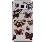 TPU-Muster Rückseite Handyschutzoberteil für Samsung-Anmerkung 5