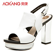 Aokang® Women's Leather Sandals - 342818139