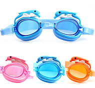 Dolphin Boys And Girls Swimming Goggles Glasses Soft Silicone Children Kids Glasses Goggles Swim Eyewear
