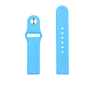 Fashion Apple Watch Sport Silicone Strap I Watch  Band without Connector