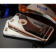 Luxus-Diamanten Spiegelkasten für iphone 5/5 s (Farbe sortiert)