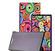 "Shy Bear™ Leather Cover Stand Case for Lenovo Tab 2 A7-30 7"" Tablet"